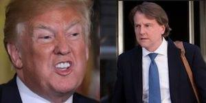 Trump and McGahn